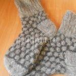 Носки шерстяные мужские шовные