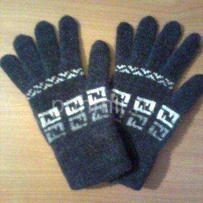 Перчатки шерстяные мужские