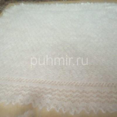 Платок ажурный пуховый белый