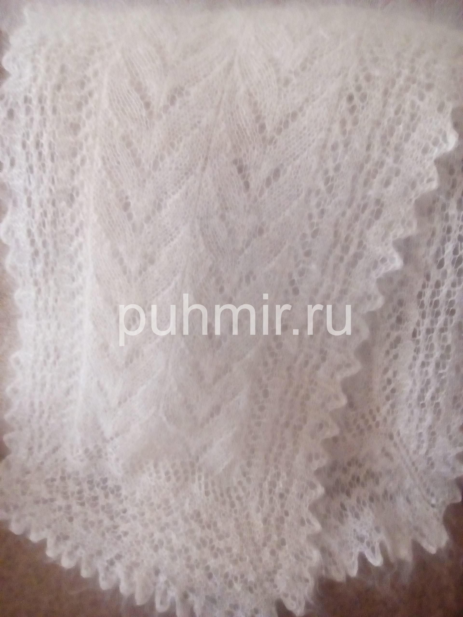 Схемы для шарфа из пуха