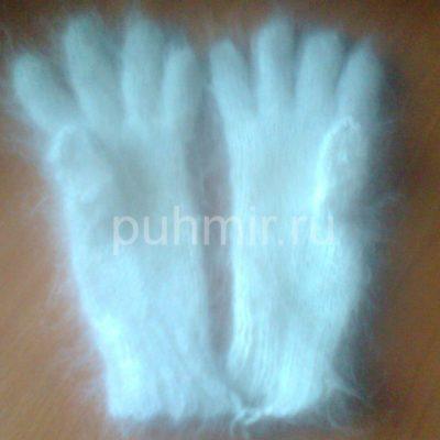 Пуховые перчатки