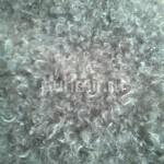 Пуховые платки гладкой вязки