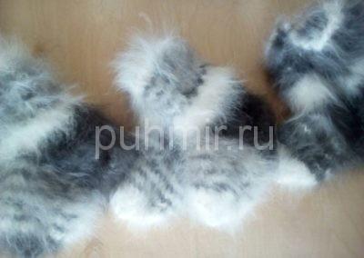 Носки из пуха кролика2