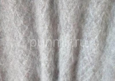 Платок пуховый ажурный светло-серый