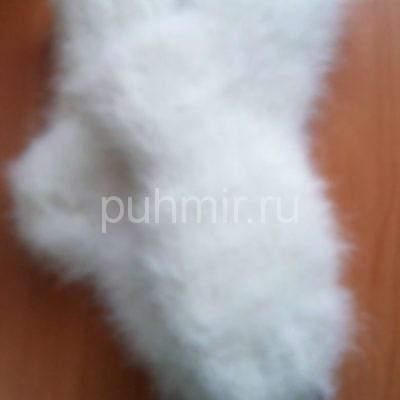 Носки из пуха кролика на шерстяной нити