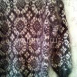 Платье пуховое с орнаментами